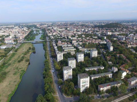 Пловдив от въздуха - какъвто никога не сте го виждали!